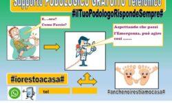 Supporto PODOLOGICO GRATUITO