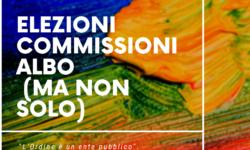 ELEZIONI COMMISSIONI d'ALBO